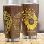 You Are My Sunshine Stainless Steel Tumbler, Tumbler Cups For Coffee/Tea, Great Customized Gifts For Birthday Christmas Thanksgiving