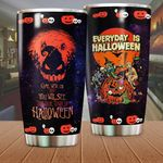 Everyday Is Halloween Stainless Steel Tumbler Perfect Gifts For Pumpkin Lover Tumbler Cups For Coffee/Tea, Great Customized Gifts For Birthday Christmas Thanksgiving Halloween