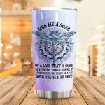 Dragonfly Sing Me A Song Stainless Steel Tumbler Perfect Gifts For Dragonfly Lover Tumbler Cups For Coffee/Tea, Great Customized Gifts For Birthday Christmas Thanksgiving