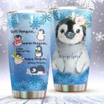 Personalized Soft Penguin Warm Penguin Stainless Steel Tumbler Perfect Gifts For Penguin Lover Tumbler Cups For Coffee/Tea, Great Customized Gifts For Birthday Christmas Thanksgiving