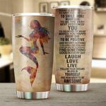 Mermaid Today Is A Good Day Stainless Steel Tumbler Perfect Gifts For Mermaid Lover Tumbler Cups For Coffee/Tea, Great Customized Gifts For Birthday Christmas Thanksgiving