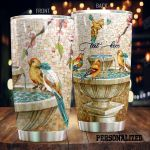 Personalized Cardinal Stainless Steel Tumbler Perfect Gifts For Cardinal Lover Tumbler Cups For Coffee/Tea, Great Customized Gifts For Birthday Christmas Thanksgiving