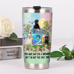 Labrador Retriever Dog Hippie Van I'm Not The Only One Stainless Steel Tumbler Perfect Gifts For Hippie Tumbler Cups For Coffee/Tea, Great Customized Gifts For Birthday Christmas Thanksgiving