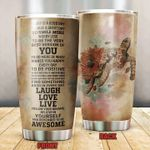 Turtle Today Is A Good Day Stainless Steel Tumbler, Tumbler Cups For Coffee/Tea, Great Customized Gifts For Birthday Christmas Thanksgiving