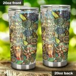 Hippie She's Got A Heavy Heart Stainless Steel Tumbler Perfect Gifts For Hippie Lover Tumbler Cups For Coffee/Tea, Great Customized Gifts For Birthday Christmas Thanksgiving