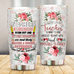 A Truly Great Teacher Is Hard To Find Stainless Steel Tumbler Perfect Gifts For Teacher Tumbler Cups For Coffee/Tea, Great Customized Gifts For Birthday Christmas Thanksgiving