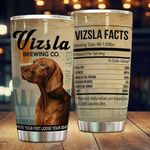 Vizsla Dog Move Your Feet Loose Your Seat Stainless Steel Tumbler Perfect Gifts For Dog Lover Tumbler Cups For Coffee/Tea, Great Customized Gifts For Birthday Christmas Thanksgiving