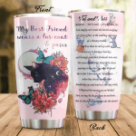 Black Cat My Best Friend Wears A Fur Coat Stainless Steel Tumbler Perfect Gifts For Black Cat Lover Tumbler Cups For Coffee/Tea, Great Customized Gifts For Birthday Christmas Thanksgiving