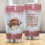 American Football I Love Being A Football Mom Stainless Steel Tumbler Perfect Gifts For American Football Lover Tumbler Cups For Coffee/Tea, Great Customized Gifts For Birthday Christmas Thanksgiving