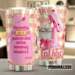 Personalized Baking Find Something You're Passionate About Stainless Steel Tumbler Perfect Gifts For Baking Lover Tumbler Cups For Coffee/Tea, Great Customized Gifts For Birthday Christmas Thanksgiving