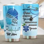Personalized Nurse Difference You Made Stainless Steel Tumbler Perfect Gifts For Nurse Tumbler Cups For Coffee/Tea, Great Customized Gifts For Birthday Christmas Thanksgiving