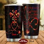 Personalized Nurse The Best Way To Find Yourself Stethoscopes Colorful Sparkle Stainless Steel Tumbler Perfect Gifts For Nurse Tumbler Cups For Coffee/Tea, Great Customized Gifts For Birthday Christmas Thanksgiving