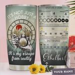 Personalized Photography It's Not Just A Hobby It's My Escape From Reality Stainless Steel Tumbler, Tumbler Cups For Coffee/Tea, Great Customized Gifts For Birthday Christmas Thanksgiving