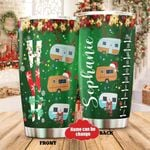 Personalized Camping Stainless Steel Tumbler Perfect Gifts For Camping Lover Tumbler Cups For Coffee/Tea, Great Customized Gifts For Birthday Christmas Thanksgiving