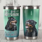 Rottweiler Dog I Won't Judge Your Children Stainless Steel Tumbler Perfect Gifts For Dog Lover Tumbler Cups For Coffee/Tea, Great Customized Gifts For Birthday Christmas Thanksgiving