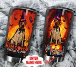 Personalized Golden Retriever Too Cute To Spook Stainless Steel Tumbler Perfect Gifts For Dog Lover Tumbler Cups For Coffee/Tea, Great Customized Gifts For Birthday Christmas Thanksgiving