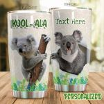 Personalized Koala Stainless Steel Tumbler Perfect Gifts For Koala Lover Tumbler Cups For Coffee/Tea, Great Customized Gifts For Birthday Christmas Thanksgiving