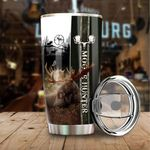Moose Hunter Stainless Steel Tumbler Perfect Gifts For Moose Lover Tumbler Cups For Coffee/Tea, Great Customized Gifts For Birthday Christmas Thanksgiving