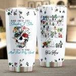 Personalized Gardening And Into The Garden I Go To Lose My Mind And Find My Soul Stainless Steel Tumbler, Tumbler Cups For Coffee/Tea, Great Customized Gifts For Birthday Christmas Thanksgiving