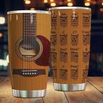 Guitar Chord Stainless Steel Tumbler, Tumbler Cups For Coffee/Tea, Great Customized Gifts For Birthday Christmas Thanksgiving