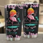Flamingo Riot Society Japan Stainless Steel Tumbler, Tumbler Cups For Coffee/Tea, Great Customized Gifts For Birthday Christmas Thanksgiving