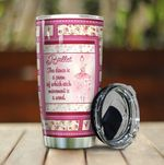 Ballet Dancer The Dance Is A Poem Stainless Steel Tumbler Perfect Gifts For Ballet Lover Tumbler Cups For Coffee/Tea, Great Customized Gifts For Birthday Christmas Thanksgiving