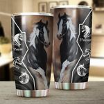 Horse Stainless Steel Tumbler Perfect Gifts For Horse Lover Tumbler Cups For Coffee/Tea, Great Customized Gifts For Birthday Christmas Thanksgiving