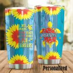 Personalized I Just Really Really Love Turtles Stainless Steel Tumbler, Tumbler Cups For Coffee/Tea, Great Customized Gifts For Birthday Christmas Thanksgiving