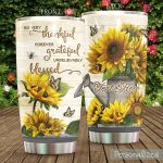 Personalized Gardener So Very Thankful Forever Grateful Unbelievably Blessed Stainless Steel Tumbler, Tumbler Cups For Coffee/Tea, Great Customized Gifts For Birthday Christmas Thanksgiving