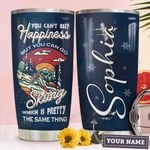 Personalized You Can't Buy Happiness But You Can Go Skiing Which Is Pretty The Same Thing Stainless Steel Tumbler, Tumbler Cups For Coffee/Tea, Great Customized Gifts For Birthday Christmas Thanksgiving