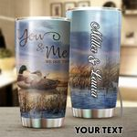 Personalized Duck Hunting Couple We Got This Stainless Steel Tumbler Perfect Gifts For Hunting Duck Lover Tumbler Cups For Coffee/Tea, Great Customized Gifts For Birthday Christmas Thanksgiving