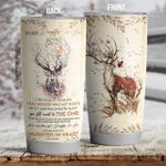 Personalized Deer To My Daughter In Law From Mom You Still Would Be The One Stainless Steel Tumbler Perfect Gifts For Deer Lover Tumbler Cups For Coffee/Tea, Great Customized Gifts For Birthday Christmas Thanksgiving