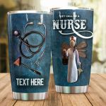 Personalized They Call Me A Nurse Stainless Steel Tumbler, Tumbler Cups For Coffee/Tea, Great Customized Gifts For Birthday Christmas Thanksgiving