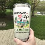 Camping Partners For Life Stainless Steel Tumbler Perfect Gifts For Husband And Wife Tumbler Cups For Coffee/Tea, Great Customized Gifts For Birthday Christmas Thanksgiving Wedding Valentine's Day