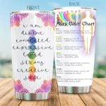 Yoga Aura I Am Divine Connected Stainless Steel Tumbler Perfect Gifts For Yoga Lover Tumbler Cups For Coffee/Tea, Great Customized Gifts For Birthday Christmas Thanksgiving