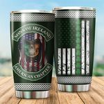 Sons Of Ireland St. Patrick's Day Stainless Steel Tumbler Perfect Gifts For Irish Lover Tumbler Cups For Coffee/Tea, Great Customized Gifts For Birthday Christmas Thanksgiving St. Patrick's Day