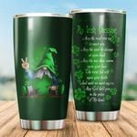 Irish St. Patrick's Day May The Road Rise Up Stainless Steel Tumbler Perfect Gifts For Irish Lover Tumbler Cups For Coffee/Tea, Great Customized Gifts For Birthday Christmas Thanksgiving St Patrick's Day