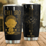 Personalized Buddhism You Need To Let Go Stainless Steel Tumbler Perfect Gifts For Buddhism Lover Tumbler Cups For Coffee/Tea, Great Customized Gifts For Birthday Christmas Thanksgiving