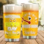 Personalized Beer National Beer Day I Need Beer Stainless Steel Tumbler Perfect Gifts For Beer Lover Tumbler Cups For Coffee/Tea, Great Customized Gifts For Birthday Christmas Thanksgiving