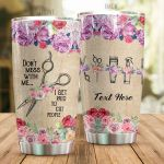Personalized Hair Hustler I Get Paid To Cut People Stainless Steel Tumbler Tumbler Cups For Coffee/Tea Meaningful Customized Gifts For Birthday Christmas Thanksgiving Awesome Gifts For Hair Stylist