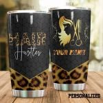Personalized Hair Hustler Equipment Stainless Steel Tumbler Tumbler Cups For Coffee/Tea Meaningful Customized Gifts For Birthday Christmas Thanksgiving Awesome Gifts For Hair Stylist
