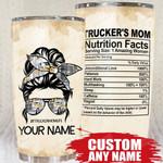 Qd - Personalized - Trucker's Mom Tumbler