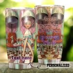 Personalized Hairstylist The Crown You Never Take Off Stainless Steel Tumbler Tumbler Cups For Coffee/Tea Meaningful Customized Gifts For Birthday Christmas Thanksgiving Awesome Gifts For Hair Stylist