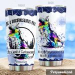 Personalized Unicorn Dinosaur Be A Unicornasaurus Rex Stainless Steel Tumbler Perfect Gifts For Dinosaur Lover Tumbler Cups For Coffee/Tea, Great Customized Gifts For Birthday Christmas Thanksgiving