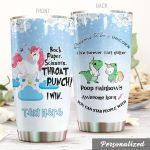 Personalized Unicorn Reasons To Be A Unicorn Stainless Steel Tumbler Perfect Gifts For Unicorn Lover Tumbler Cups For Coffee/Tea, Great Customized Gifts For Birthday Christmas Thanksgiving
