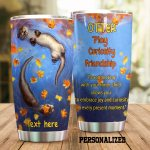 Personalized Otters Reconnecting With Your Inner Child Stainless Steel Tumbler Perfect Gifts For Otter Lover Tumbler Cups For Coffee/Tea, Great Customized Gifts For Birthday Christmas Thanksgiving