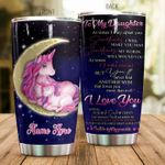 Personalized Unicorn FamilyTo My Daughter From Parent At Times I May Upset You Stainless Steel Tumbler Perfect Gifts For Unicorn Lover Tumbler Cups For Coffee/Tea, Great Customized Gifts For Birthday Christmas Thanksgiving