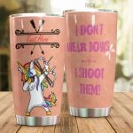 Personalized Archery Unicorn I Don't Wear Bows Stainless Steel Tumbler Perfect Gifts For Archery Lover Tumbler Cups For Coffee/Tea, Great Customized Gifts For Birthday Christmas Thanksgiving