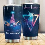 Personalized Unicorn With Galaxy Stainless Steel Tumbler Perfect Gifts For Unicorn Lover Tumbler Cups For Coffee/Tea, Great Customized Gifts For Birthday Christmas Thanksgiving