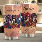 Personalized Skull Lady God Says You Are Stainless Steel Tumbler Perfect Gifts For Skull Lover Tumbler Cups For Coffee/Tea, Great Customized Gifts For Birthday Christmas Thanksgiving